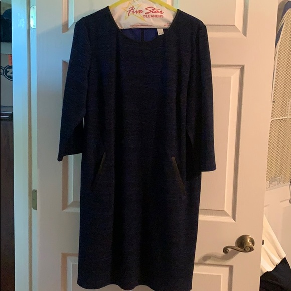 Chico's Dresses & Skirts - Black and Blue Dress